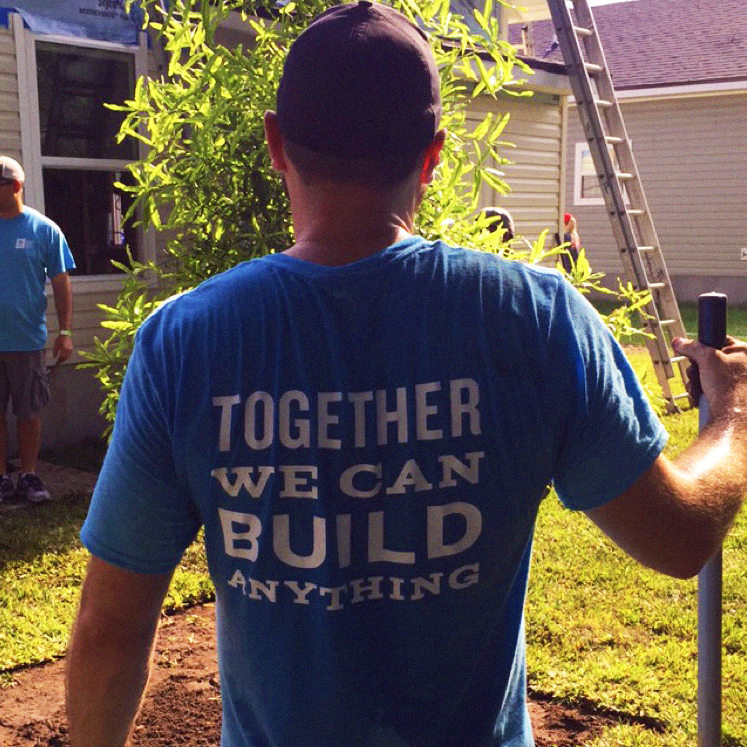 Together we can build anything