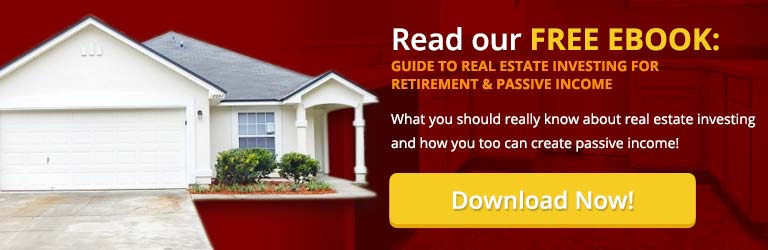 DOWNLOAD our eBook - Guide to Real Estate Investing for Retirement and Passive Income