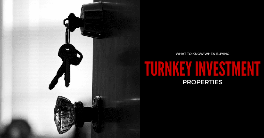 What to Know When Buying Turnkey Investment Properties