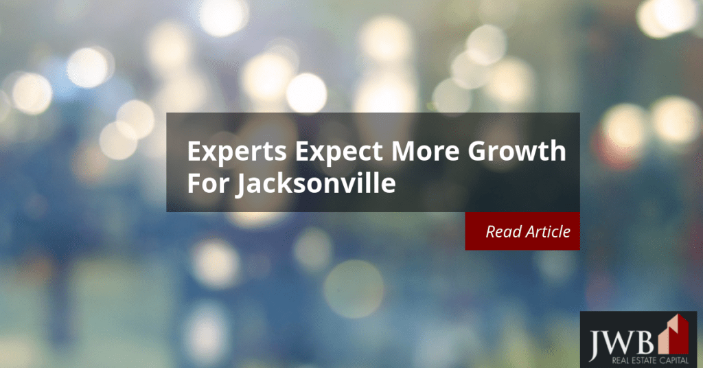 Experts Expect More Growth for Jacksonville Economy