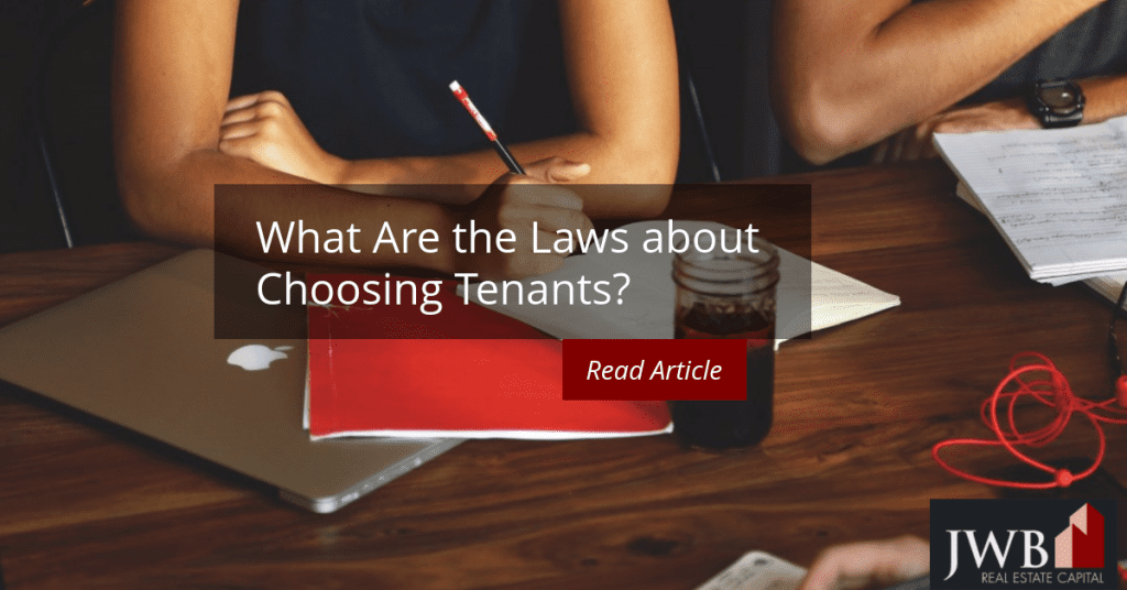 laws about choosing tenants