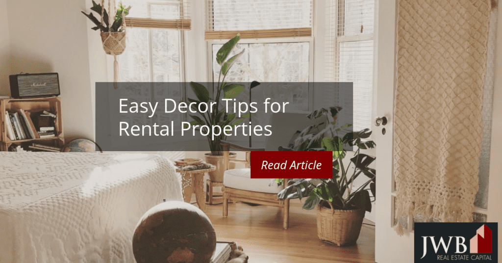 Easy Decor Tips for Rental Properties