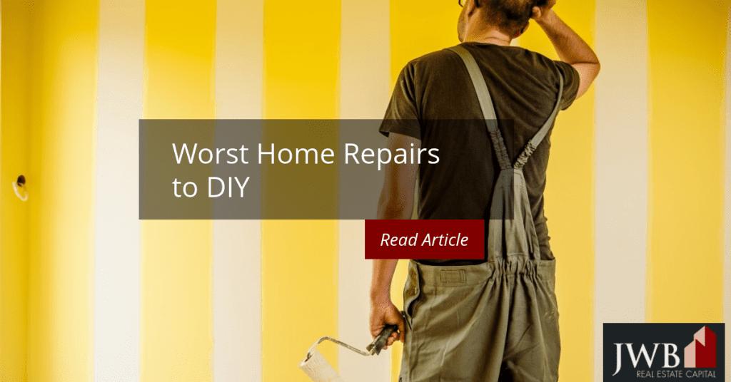 worst home repairs to diy