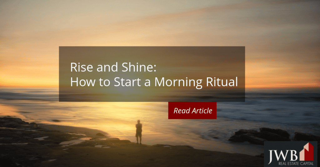 Do You Need a Morning Ritual?