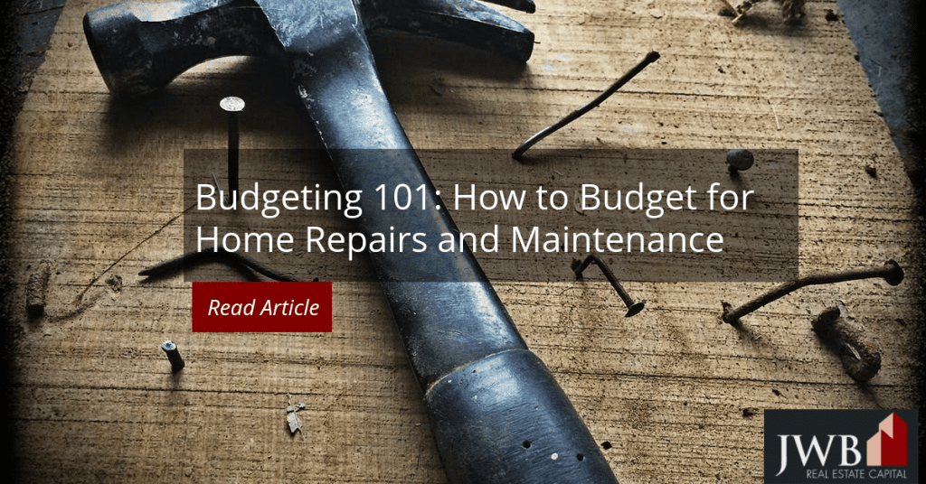Budgeting 101: How Much to Budget for Home Repairs