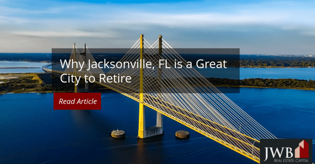 Jacksonville FL great city to retire