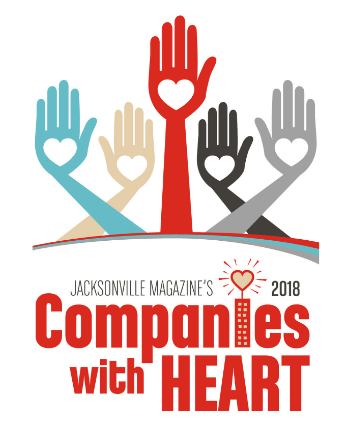 JWB Earns Companies with a Heart Award
