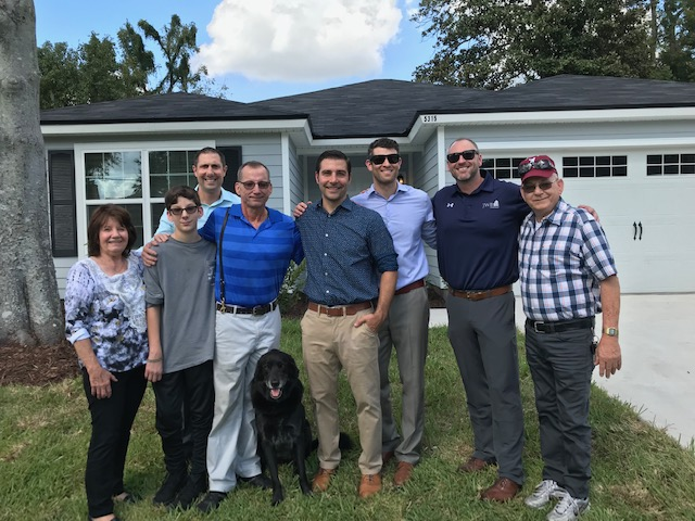 JWB Gives House Away To Local Veteran