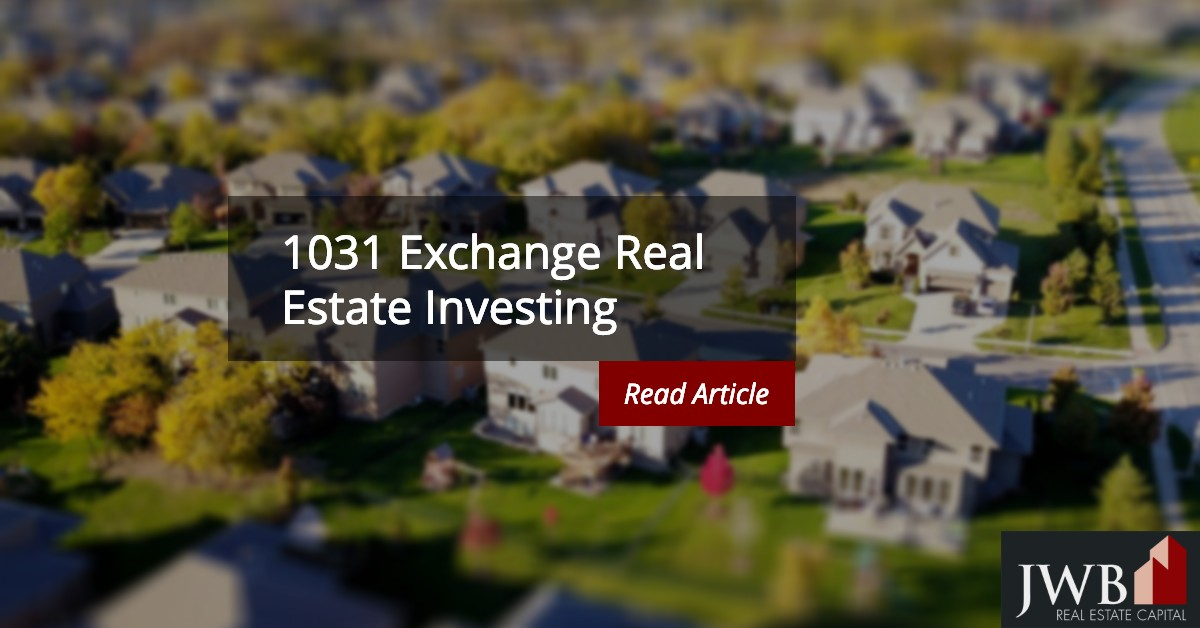 1031 Exchange Real Estate