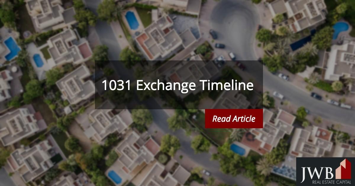 1031 Exchange Timeline