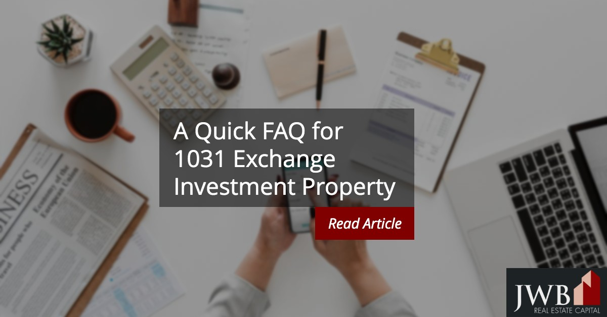 1031 exchange investment property
