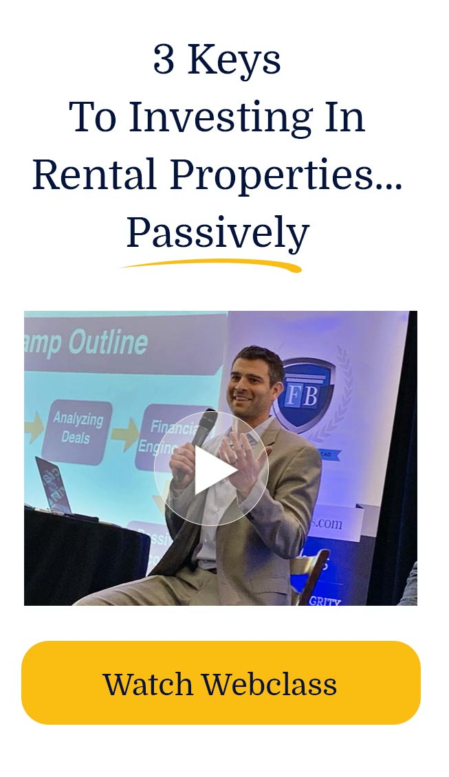 3 Keys To Investing In Rental Properties...Passively