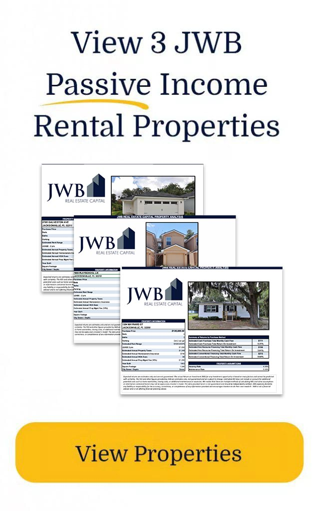 View 3 JWB Passive Income Rental Properties