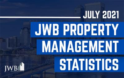 July 2021 JWB Property Management Statistics