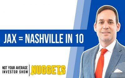 Is Jacksonville The Next Nashville (for rental property investors)